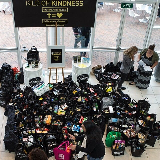 Kilo of Kindness is a Hillsong Church's demonstration of love for Jesus and people.. They receive donations in favour to other people in need.. More information at www.citycare.hillsong.com #CrossEqualsLove