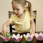 Plastic Eggs Easter Name Game