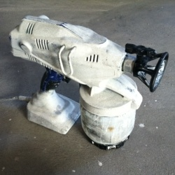 furniture redo spray guns forward painting furniture with a spray gun. Black Bedroom Furniture Sets. Home Design Ideas