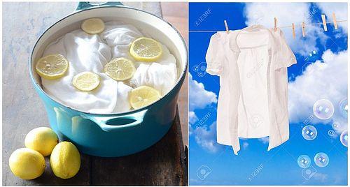 Mira como blanquear la ropa sin cloro y químicos peligrosos - ConsejosdeSalud.info