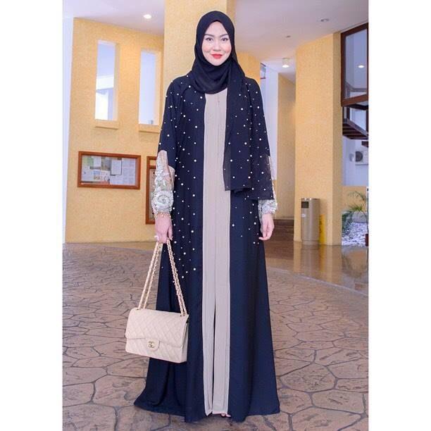 Lulu lace abaya www.annahariri.com