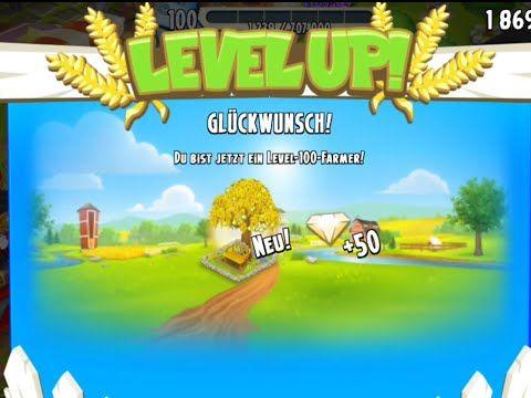 Level Up 100 Hay Day endlich geschafft☺wo gibt es den goldenen Baum? - YouTube