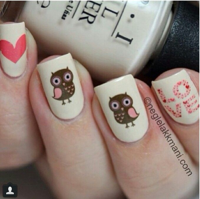 Nail Art Owl Images Easy Nail Designs For Beginners Step By Step