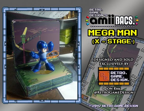 Super Smash Bros Mega Man AmiiBac (X - Stage)