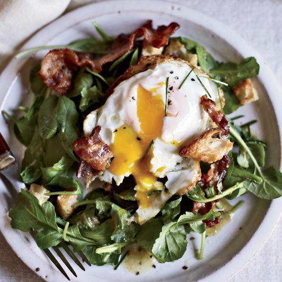 Warm Bacon-and-Egg Salad