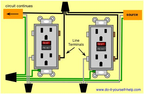 Basic Electrical Wiring Diagrams Deck Lights & Outlets 100