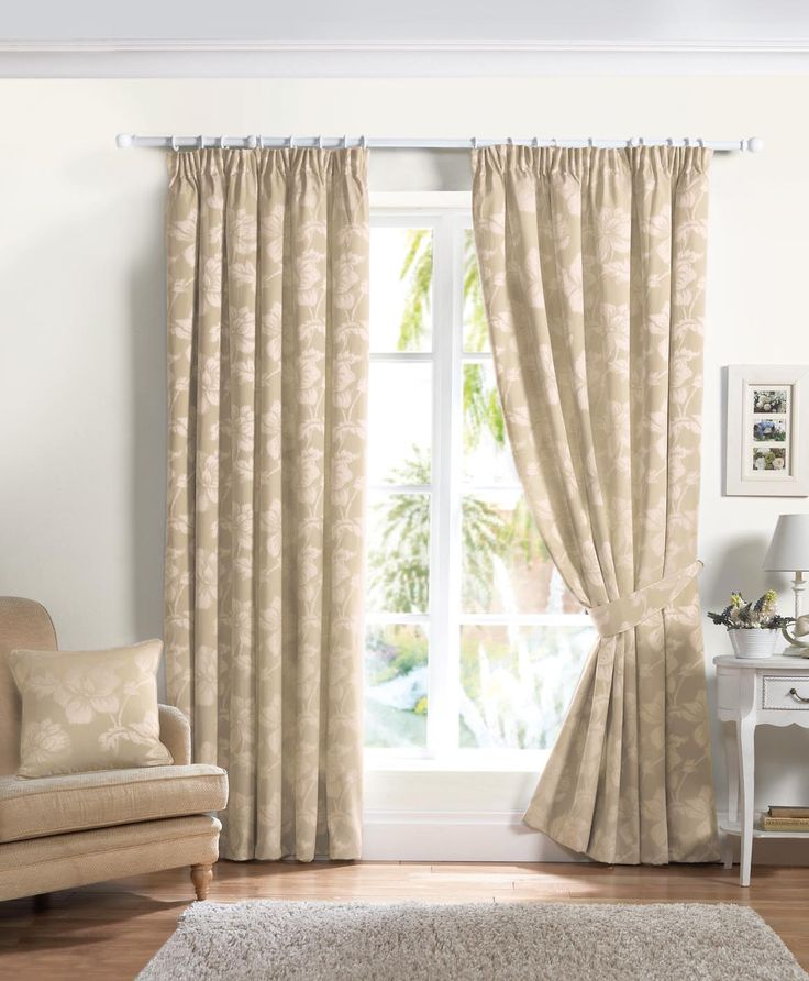 Buy Curtina Renoir Natural Inches Lined Curtains From Our Pencil Pleat Range At Tesco Direct