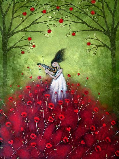 loVe is a symphony by Amanda Cass  http://www.redbubble.com/people/theartoflove/art/2756517-love-is-a-symphony