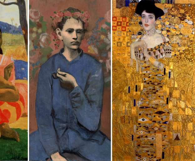 The world's most expensive paintings - AP; AP; Heritage Images/Getty Images