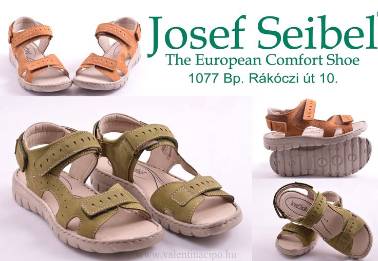 Josef Seibel sportos női szandálok 36-41-ig vásárolhatók!  http://www.valentinacipo.hu/josef-seibel/noi/zold/szandal/142666740  http://www.valentinacipo.hu/josef-seibel/noi/barna/szandal/142665340  #Josef_seibel #Női_szandál #szandál