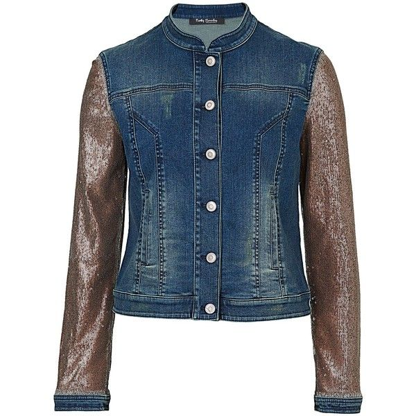 47 best Sequins denim jacket images on Pinterest | Denim, Sequins ...
