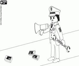 Malvorlagen Polizei Playmobil 91 Malvorlage Polizei Ausmalbilder
