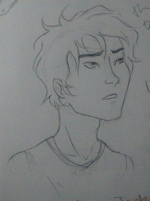 Percy Jackson (yes, I drew him AGAIN)