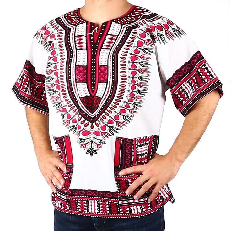 Traditional African Dashiki Shirt
