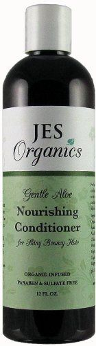 Conditioner - Organic Infused Nourishing Conditioner for Shiny Bouncy Hair 12oz. - Paraben Free (Basil) - http://essential-organic.com/conditioner-organic-infused-nourishing-conditioner-for-shiny-bouncy-hair-12oz-paraben-free-basil/