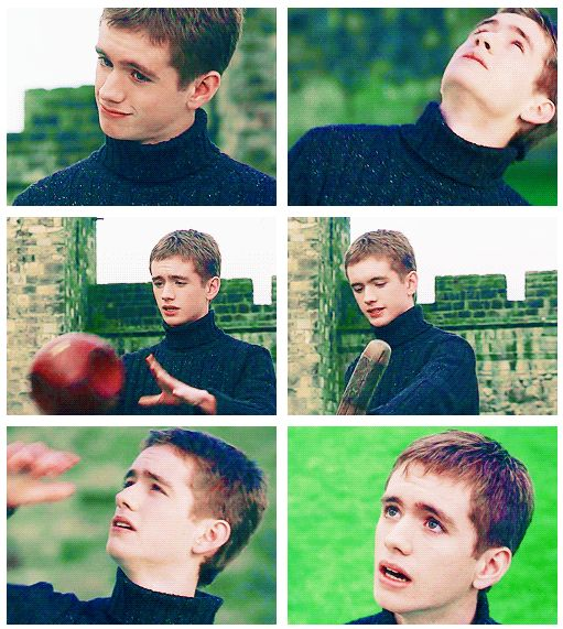 If you did not have a crush on Oliver Wood you are wrong. <---- true story