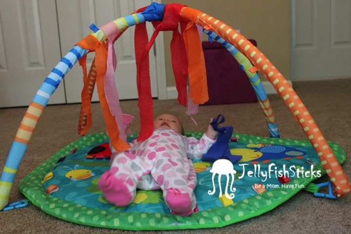 Here is a list of activities and games that our two month old really enjoyed!      We do activities twice a day, usually following a solid n...