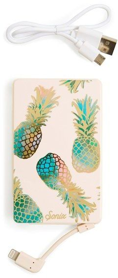 You have to love anything with Pineapples! Sonix 'Liana' Portable iPhone Charger #pineapple