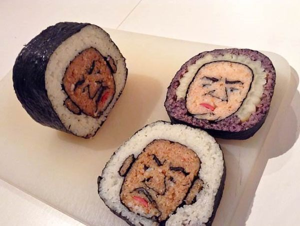 Sushi-Kunst von Tama Chan