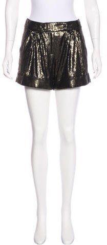 Diane von Furstenberg Dax Embellished Shorts