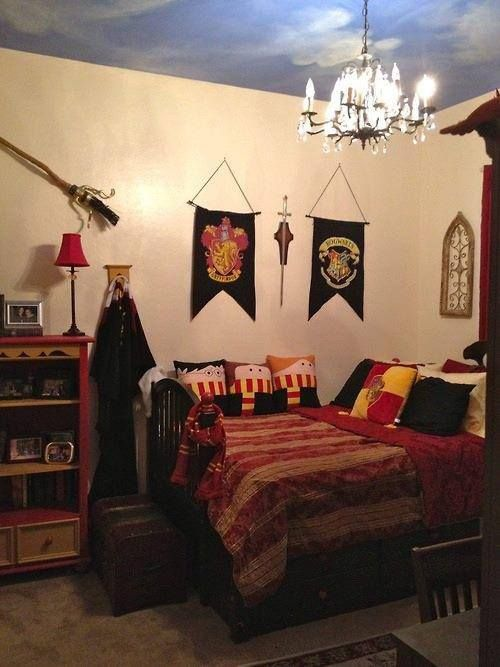 I wouldnt have the pillows. But yes. Future child.. you better like HP because your room is already decided for you.