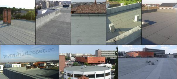 Maintenance of the flat roof
