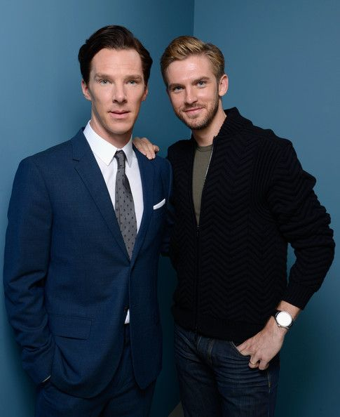 Dan Stevens and Benedict Cumberbatch