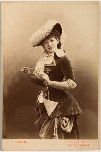 A photograph by Paul Nadar, photographer of the 19th century