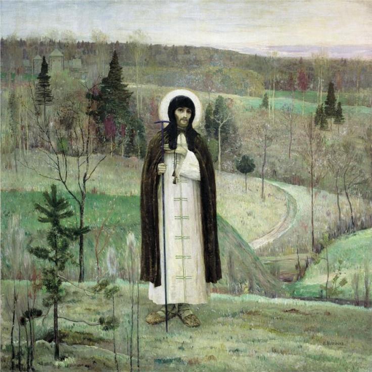 Mikhail Nesterov - Venerable Sergius of Radonezh (1899)