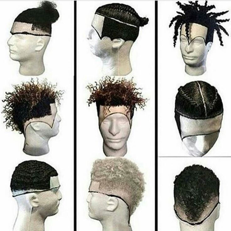 Full Frontals For Men... At least now we can try temporary dreads - why should ladies have all the hair faux fun!