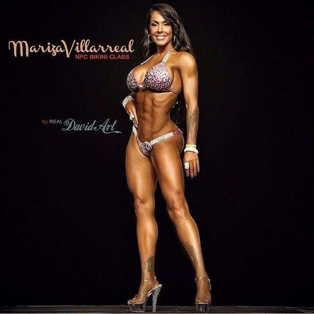 Mariza Villarreal Pics - Curvy Fitness Model's Best 34 Pics!