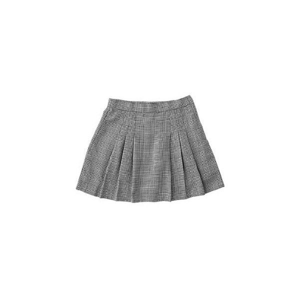 $20.40USD ($20) ❤ liked on Polyvore featuring skirts, bottoms, saias, gonne, gray skirt, fancy skirts, gray pleated skirt, grey skirt and pocket skirt