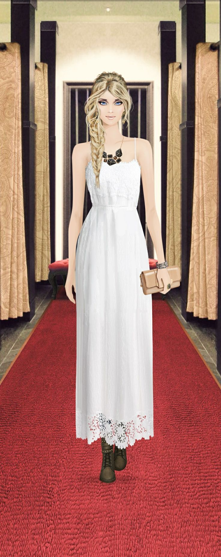 Red Carpet Gown Shopping | Doll fashion | Pinterest | Red carpet ...