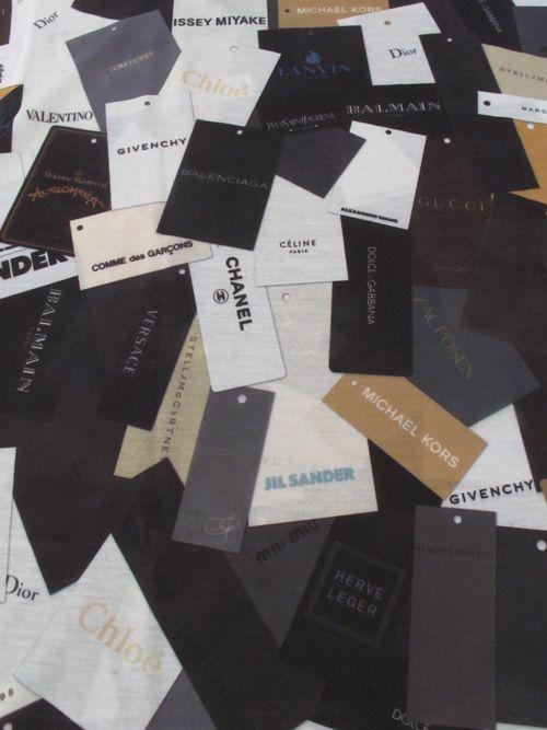 labels...