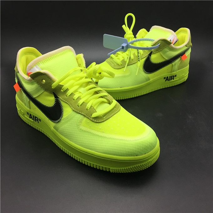 OFF WHITE X AIR FORCE 1 AO4606 700 MK | Nike air force ones