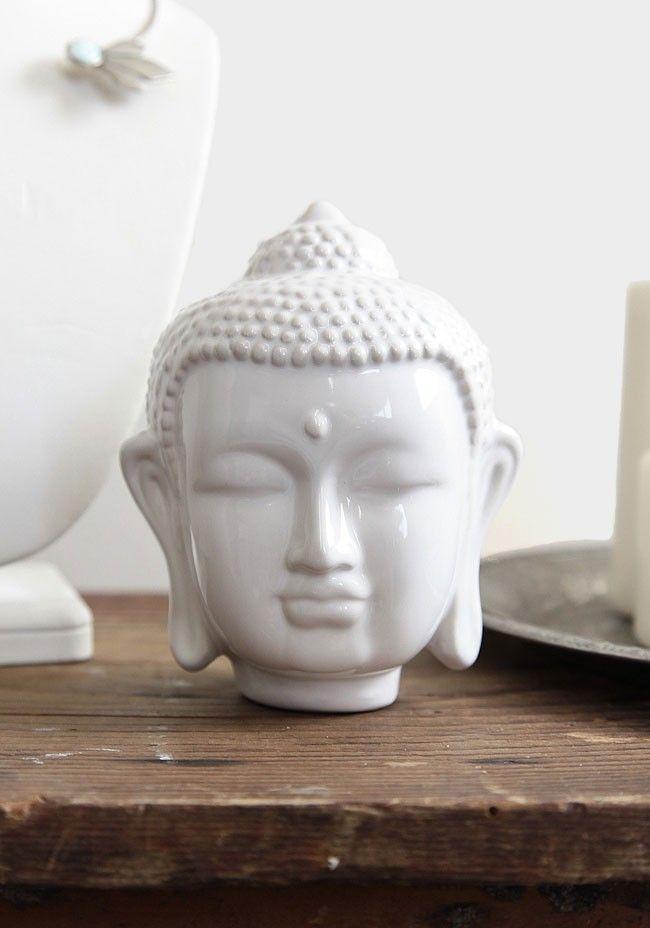 Tranquility Decorative Buddha Head