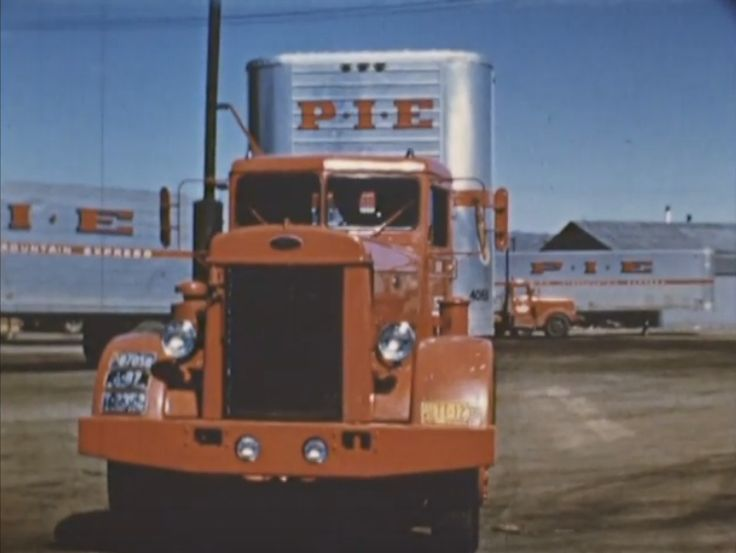 "Peterbilt Truck Drivers And Trucks On Pinterest: ""The Wheels Of Progress"" Video By Youtube...Peterbilt"