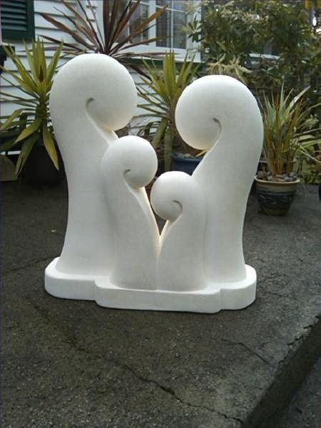KENO SCULPTURE www.kenosculpture.co.nz: Brett Keno Sculpture Gallery Omaru Stone Carvings