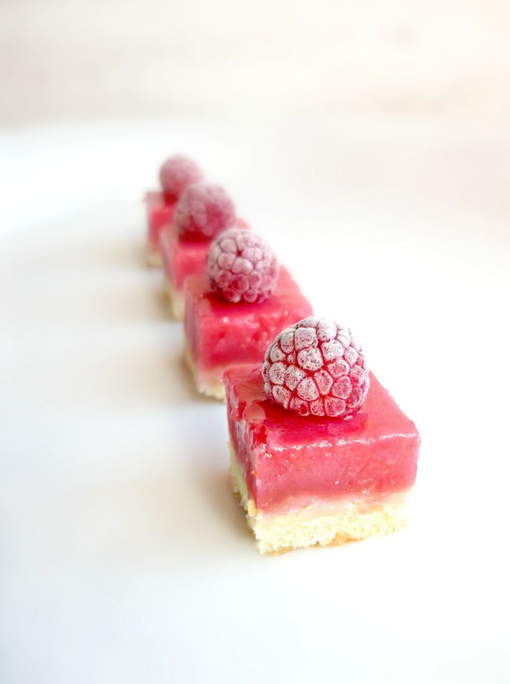 Lick The Spoon: Raspberry Lemonade petits fours