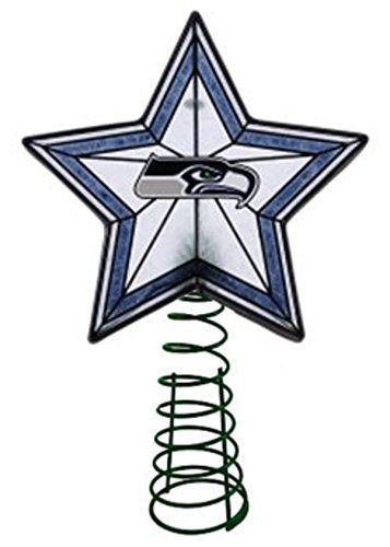 Seattle Seahawks Star Christmas Tree Topper $37.00