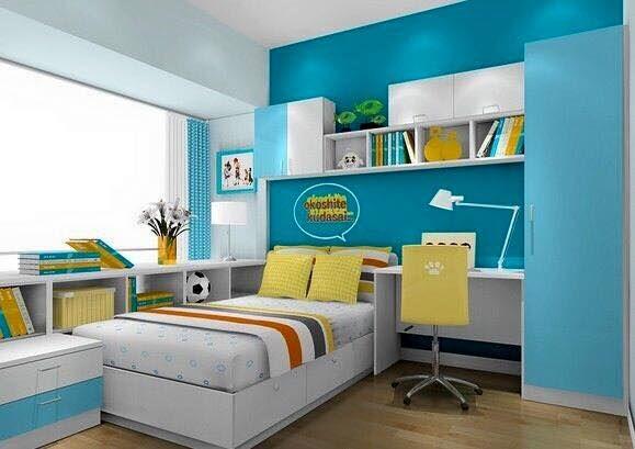 Pin Di Kamar Tidur Examples of children's bedroom decorations