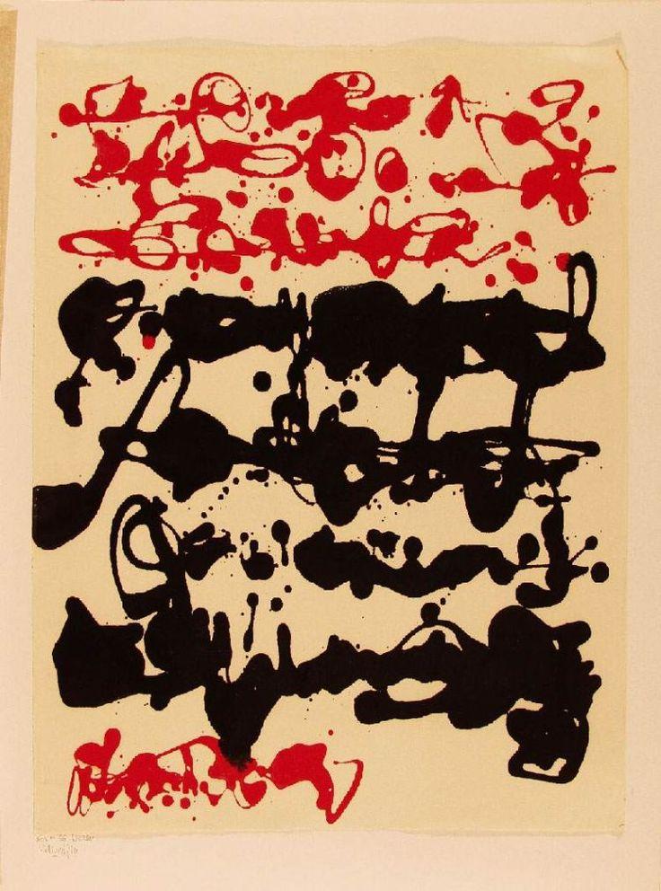 kalligraf.jpg 750×1.011 pixels Korniss Dezső (1908-1984)