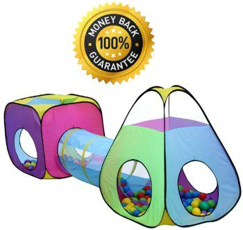 Amazon: 3pc Children Play Tent and Tunnel Toy $23.95 {reg. $49.99}