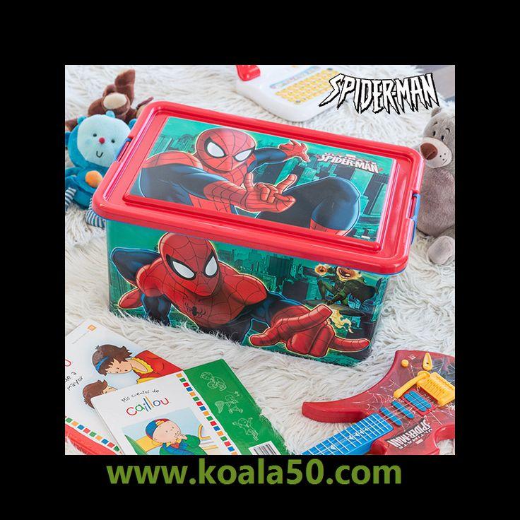 Organizador de Juguetes Spiderman (45 x 32 cm) - 10,79 €   ¡Los peques de la casa ya pueden guardar y ordenar sus juguetesgracias al organizador de juguetes Spiderman (45 x 32 cm). ¡El jugueterofavorito de los niños!Fabricado de...  http://www.koala50.com/organizadores/organizador-de-juguetes-spiderman-45-x-32-cm