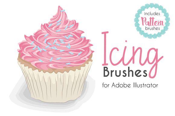 Cake   10 Photoshop Free Brushes Download   123Freebrushes