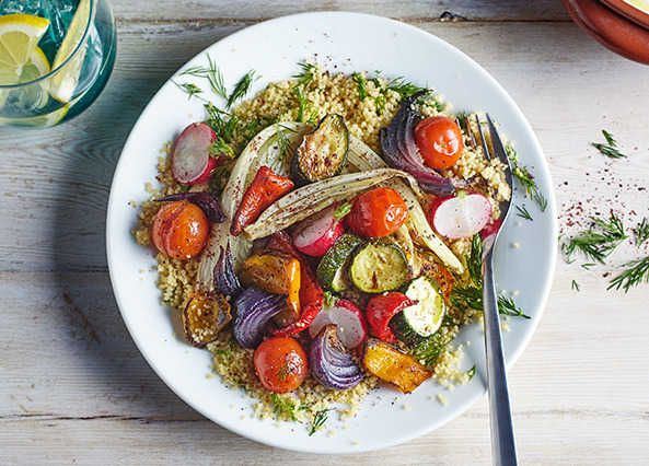 Liven up your roasted veg with a sprinkling of fresh and zesty sumac