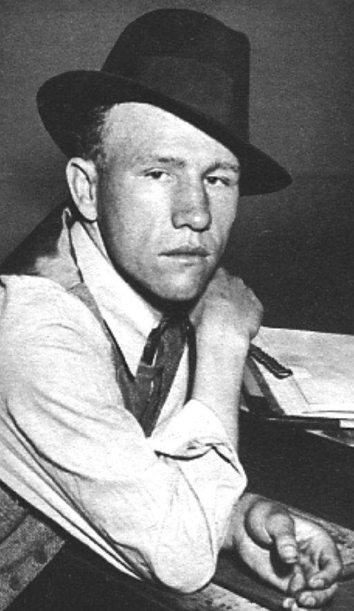 Raymond Hamilton of the Clyde Barrow Gang.