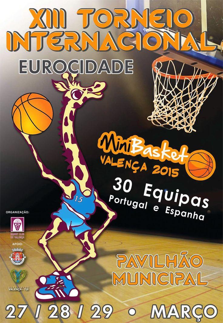 XIII Torneio Internacional de Minibasquete de Valença, 2015