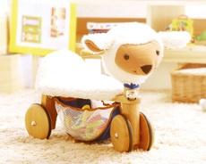 ヒツジの三輪車