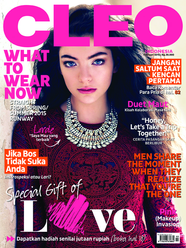 CLEO Indonesia February 2015 #Lorde